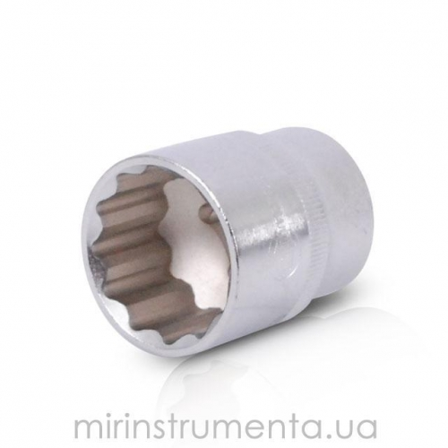 Головка 12гр., 1/2, 30мм INTERTOOL ET-0230