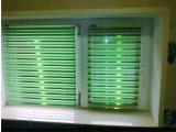 Горизонтальные жалюзи. Покрыты спец. краской, отражают солнечный свет, не деформируются на солнце-155,25 грн. м/кв..