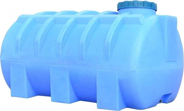 Фото  1 Горизонтальная емкость 2000 литров бак, бочка для перевозки, транспортировки пищевая 2145263