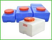 Горизонтальная квадратная емкость (400*680*490мм) 100л
