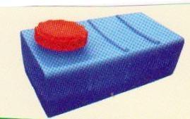 Горизонтальная квадратная емкость (500*790*620мм) 200л