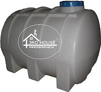 Горизонтальная пластиковая емкость(бак) 3000 литров