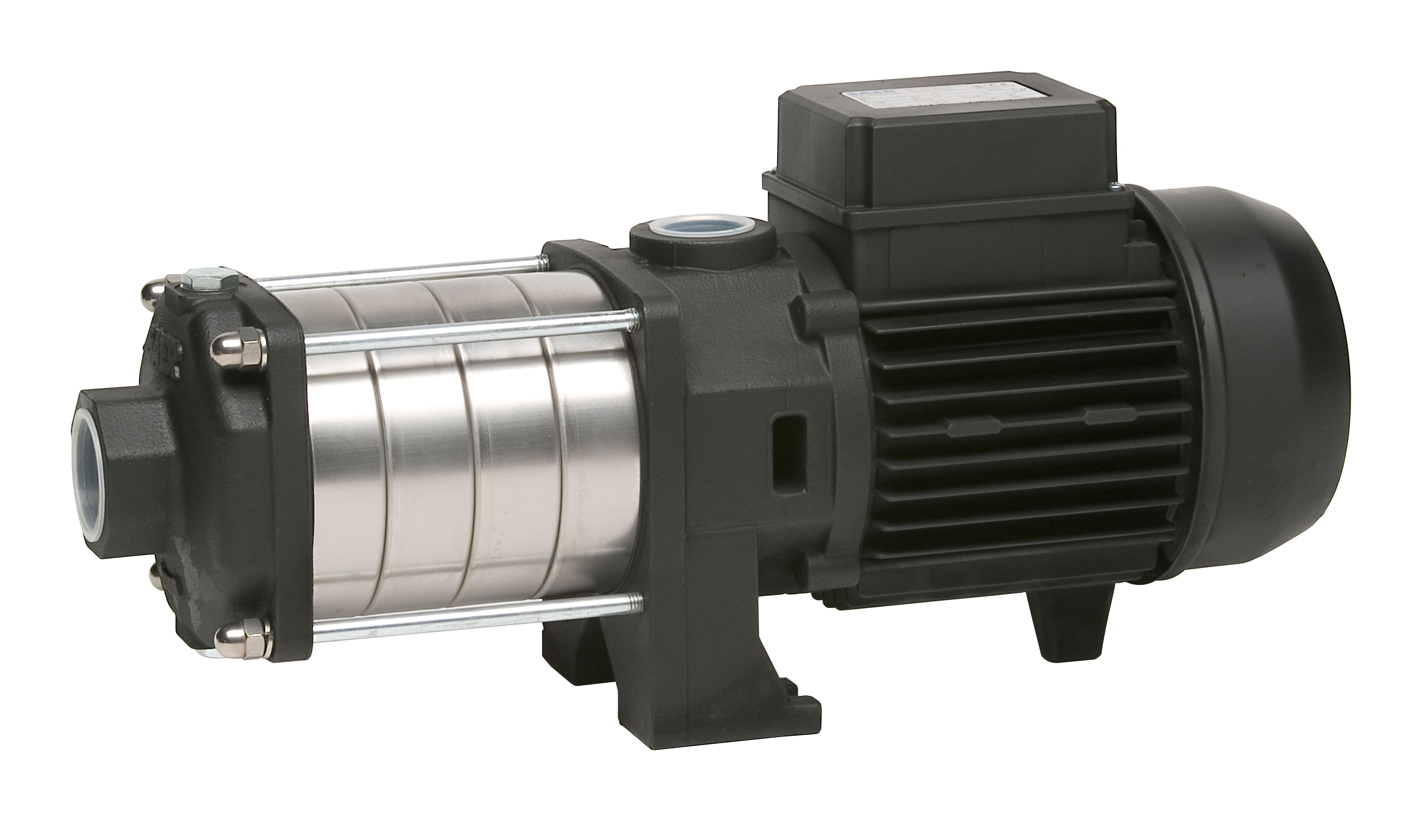 Горизонтальные многоступенчатые насосы для повышения давления Saer серии ОР32, ОР40, ОР65