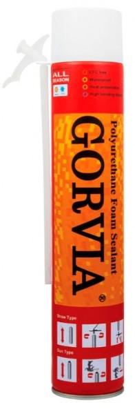 Пена монтажная ручная Gorvia Red (300 ml.)