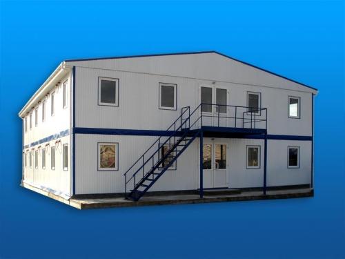 Готельный комплекс из 10 модулей (кемпинг). 6х30,