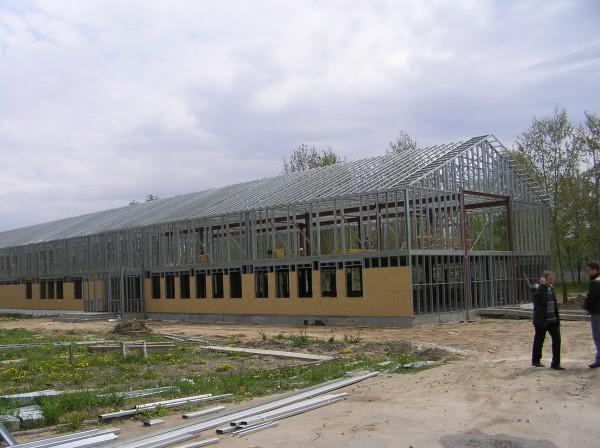 Готовые обьекты и конструкции ил легких стальных конструкций.