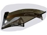 Фото  1 Готовий збірний дашок DashOk 1,5 м*1м сотовий полікарбонат 6мм / Козирок (навіс) на вхідні двері 2341556