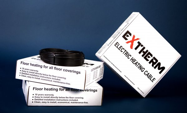 Фото  1 Нагревательный кабель EXTHERM ETC ECO 1200Вт, 60м, A.Rak 1863688