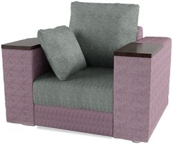 Гранд Нью Кресло Ткань Марио грей Sofa lilliac Код A98798