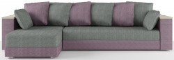 Гранд Нью Угловой диван 2 Ткань Марио грей Sofa lilliac Код A98797