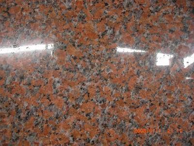 Гранитная плита G 562 MAPL RED 600*300*20 полир. Изделия из камня. Лестницы из гранита. Столешницы из гранита. Мрамор.
