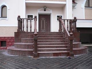 Гранитные лестницы Одесса