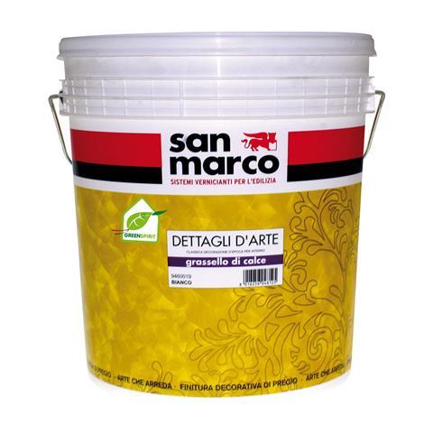 Grassello di calce (Италия) Минеральная «венецианская» штукатурка для внутренних работ.0,5 кг/м2