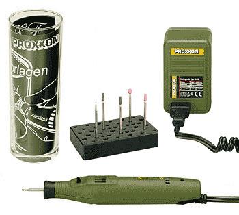 Гравировальный набор с аппаратом GG12 Proxxon 28635