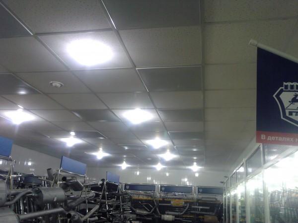 греющие потолочные кассеты для любого вида потолка