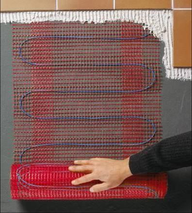 Греющий мат T2QuickNet Plus (160 Вт/м2), размеры 0,5м x 4,0м; 320Вт/ 230В
