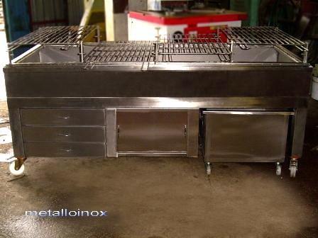 Гриль из нержавеющей стали. Изготовим от проекта до готового изделия. Качественно.