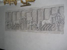 гризайлевая роспись интерьера