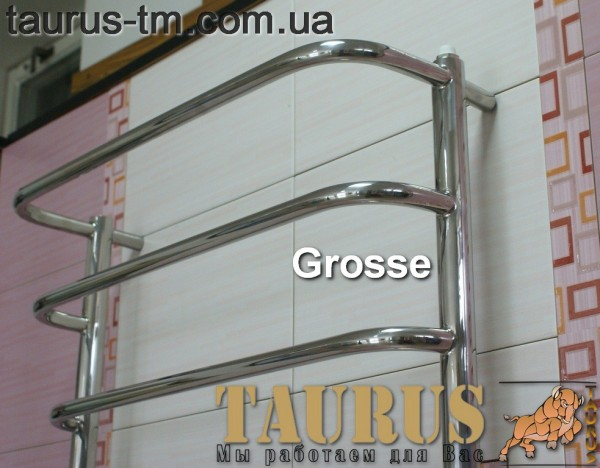 Grosse 15/450 - полотенцесушитель из нержавеющей стали. Доставка . Гарантия.