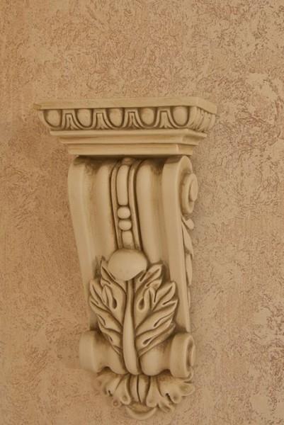 GROTTO - декоративное покрытие с эффектом камня. Можно наноссить на фасад.