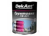 Фото  1 Грунт ГФ-021 DekArt (2,8 кг) серый,кр-коричневый. для металла 1629771