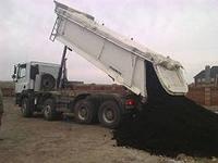 Грунт на подсыпку Этот вид грунта используется для подсыпки, планировки и поднятия уровня территории.