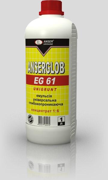 грунтовка AnserGlob EG61 (5л) концентрат 1:6