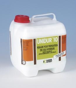 Грунтовка концентрированная UNIDUR 10-связующий материал между основанием и выравнивающей смесь.