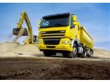 Грузоперевозка сыпучих грузов - самосвалами от 1 до 30 тонн