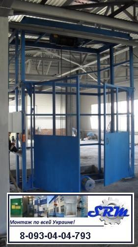 Грузовой электрический подъёмник без проводника. ГП-1500-kg-2000-kg-2 500-kg-3000-kg-3500- kg-4000-kg.