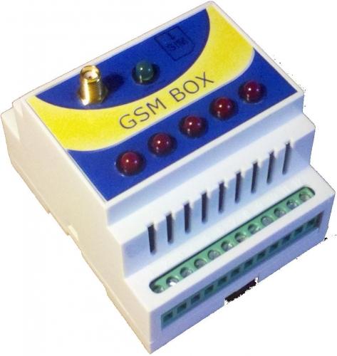 GSM РОЗЕТКА на 5 каналов (5х5А) с SMS управлением терморегулятор.