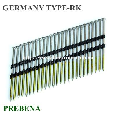 Гвоздь для пневмопистолета Тип — RK (PREBENA)