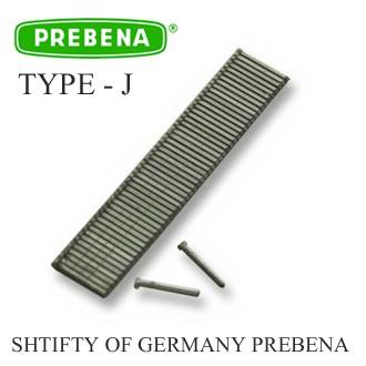 Гвоздь (штифт) для пневмопистолета Тип - J (Prebena)