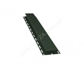 H - профиль (Т-профиль), цвет зеленый / RAL 6020, Размер: 3000 х 85 мм