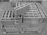 Шлакоблок простеночный 100х200х400 мм в Херсоне