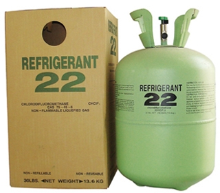 Хладагент R-22 REFRIGERANT (13.6 кг — баллон метал. , Китай)