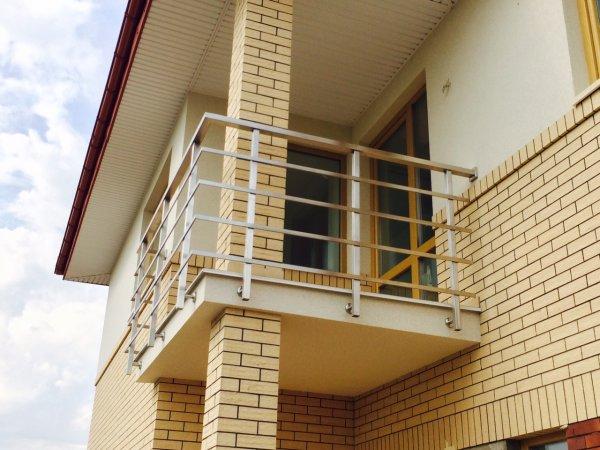 Фото 4 Перила з нержавійки,балкони,навіси,відбійники 335746