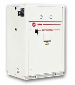 холодильная машина CGWH CCUH со спиральными компрессорами с водяным охлаждением и без конденсатора (51,8-157,1кВт)