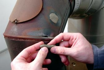 Холодная сварка-медь. Очень быстрое время применения (4 мин)ремонт трещин, утечек и т. д