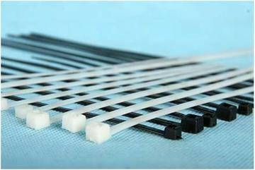 Хомут пластиковый 3,6х205 (упаковка 100 шт. ) цвет: белые, чёрные