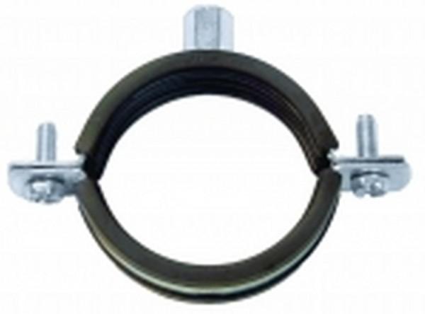Хомут с резинкой 110-115