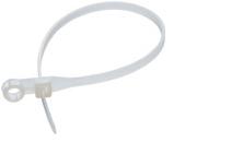 Хомути (стяжки) нейлонові під шуруп HTM-4.8/200 W