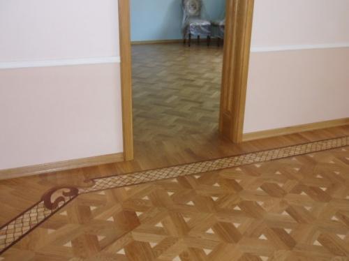 Художественный паркет, модульный, геометрический. Лучших производителей Украины.