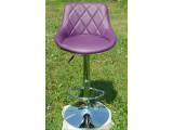 Стулья стойки HY 372, высокие барные стулья HY 372 белые, черные, фиолетовые