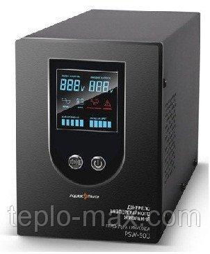 Фото  1 ИБП Logicpower PSW-500 (350Вт) Источник бесперебойного питания с правильной синусоидой для котлов и насосов 1745455