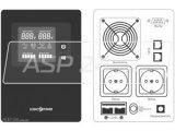 Фото  3 ИБП Logicpower PSW-500 (350Вт) Источник бесперебойного питания с правильной синусоидой для котлов и насосов 3745455