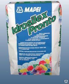 ИДРОСІЛЕКС-Пронто - мінеральний гідроізоляційний розчин однокомпонентний
