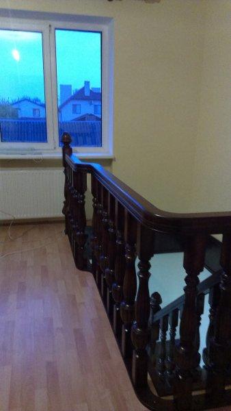 Фото  1 Лестница Деревянная, полный массив Дуба 1866168