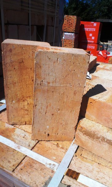 Фото 5 Керамический полнотелый кирпич М-200 (несущие стены, печи, камины) 290365