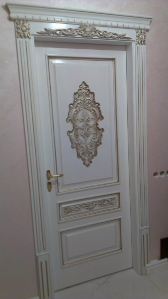 Фото  1 Двери с Изысканной резьбой из полного Массива Дуба, Ясеня 1954147